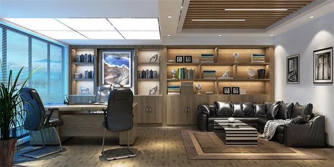 办公室装修设计之屏风隔断设计风格