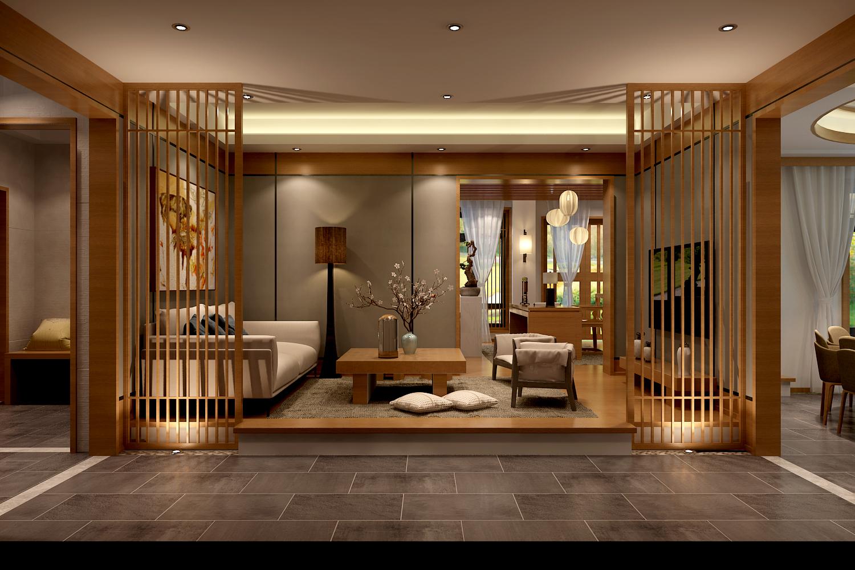 贵阳装饰公司顶尖设计师设计的简约日式风格