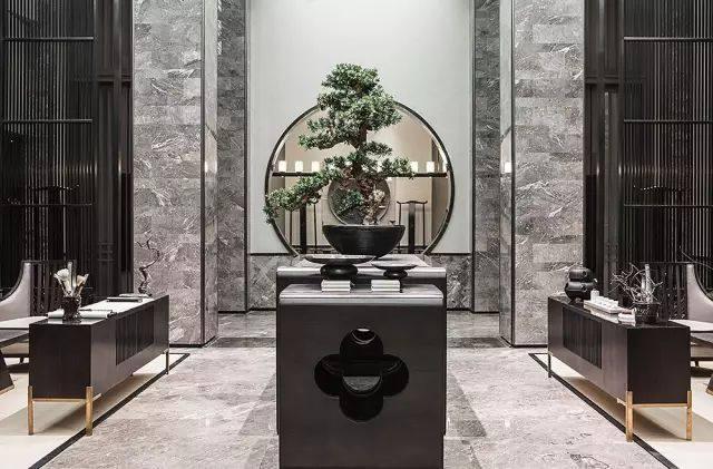 新中式玄关装修设计小技巧,助你打造千年中式意境