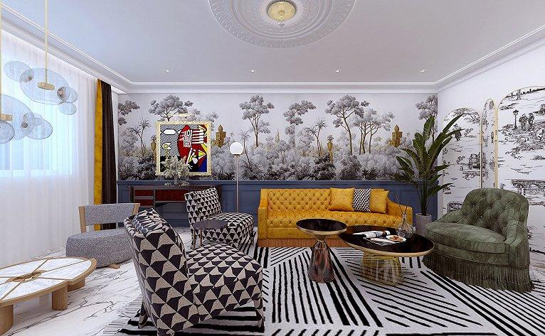 室内装修设计墙纸选择窍门,如何选择家庭装修用的墙纸4大常识