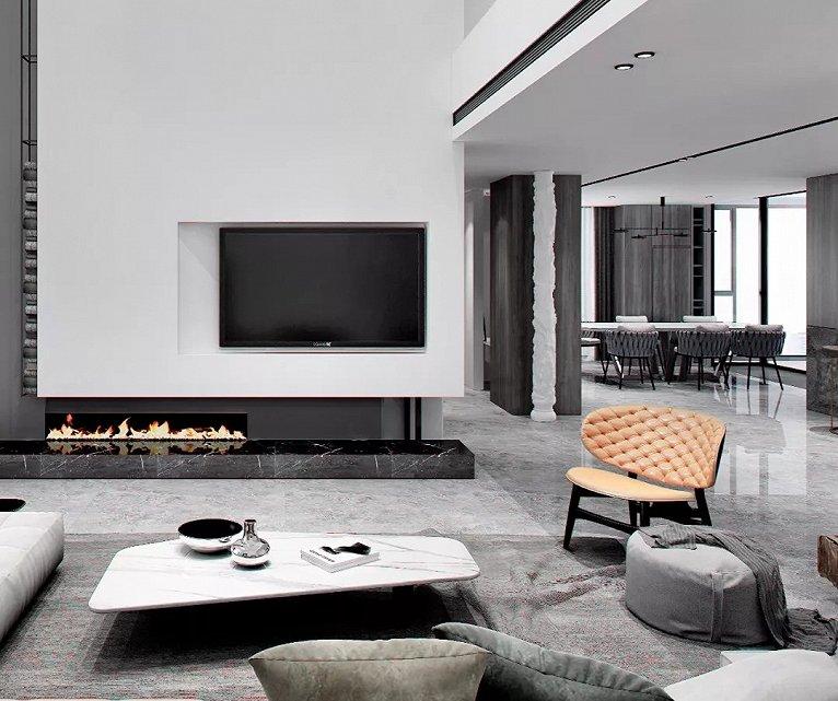 客厅装修设计重点,客厅电视背景墙的注意事项