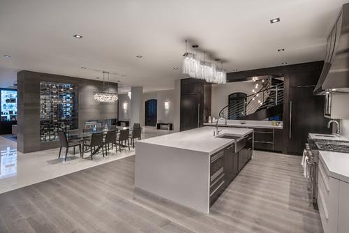 贵阳装修开放式厨房可以吗,开放式厨房装修设计优缺点简介