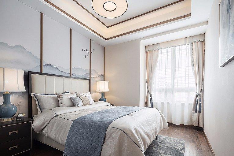 新中式风格装修设计重点,新中式风格卧室装修设计特点