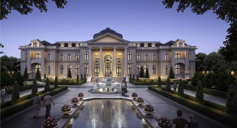 贵阳别墅花园设计应该怎么做,六种常见的别墅花园设计风格