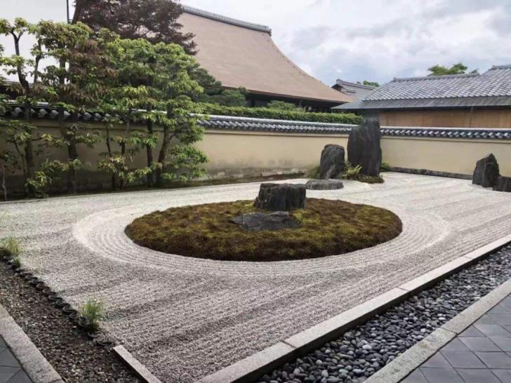 贵阳别墅花园装修篇——简练禅意的日式别墅花园装修设计