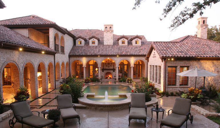 贵阳别墅花园装修篇——规整华贵的法式别墅花园装修设计