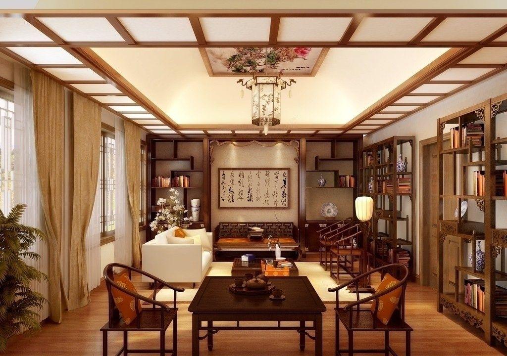 贵阳别墅装饰篇——关于别墅中式装修风格中博古架的放置