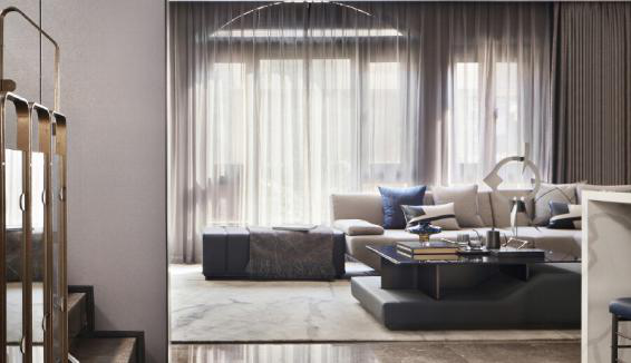 贵阳别墅装修篇——贵阳别墅装修设计之客厅的三种吊顶方式