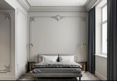 贵阳别墅装修篇——贵阳别墅装修设计之选择卧室石膏线的注意事项