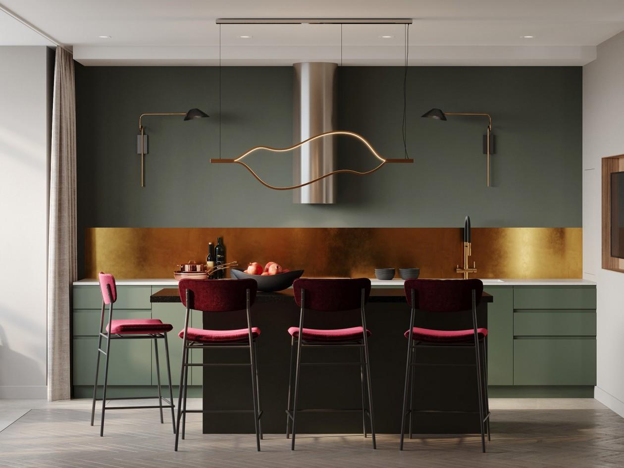 如何搞定贵阳别墅厨房装修设计,菜鸟必备家庭厨房装修指南