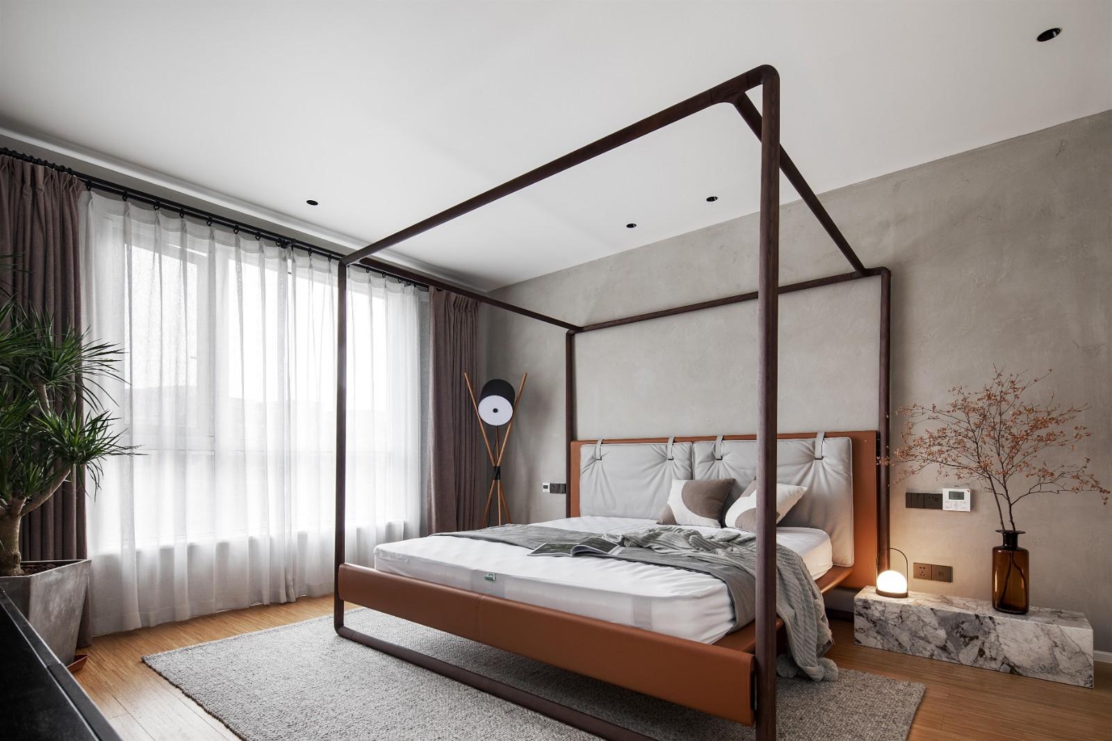 贵阳别墅卧室装修设计,别墅卧室空间装修的合理利用