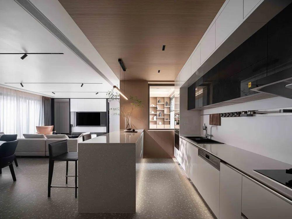 贵阳现代别墅厨房装修,现代厨房装修必看10个要点